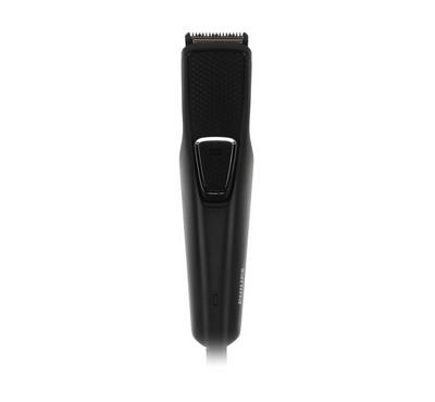 Philips Beard Trimmer, 1mm Stubble Comb, USB Charging Cable, Black