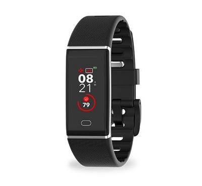 Mykronoz ZeTrack Activity and Heart Rate Tracker, Bluetooth, Touchscreen, Black