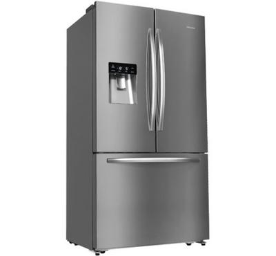 Hisense, French door Refrigerator, 697L, Silver