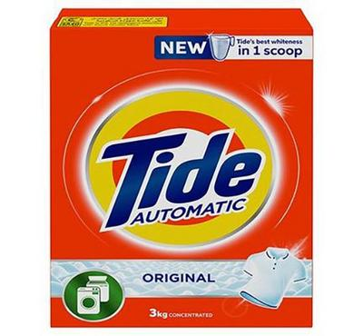 Tide Automatic Original 3kg Concentrated Washing Powder, 12 Packages, WEB ONLY