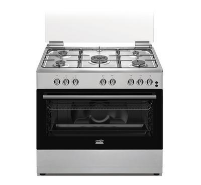 Simfer Gas Cooker 90X60, Matt Enamelled. Full Safety.Stainless Steel