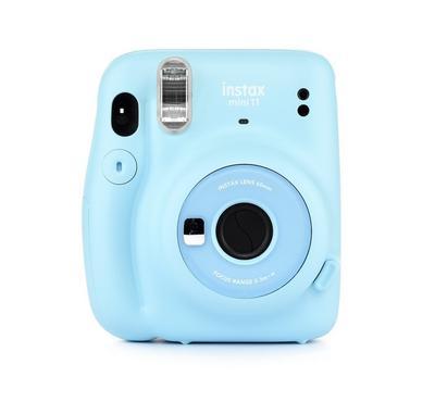 Fujifilm Instax Mini 11 Instant Film Camera, Sky Blue