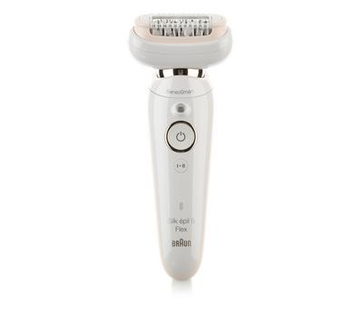 Braun Silk-Epil 9 ,Wet and Dry Epilator with 8 extras included Braun FaceSpa