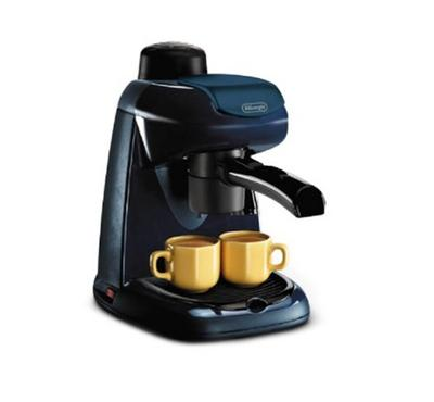 Delonghi Coffee Maker,  Stainless Steel Espresso Boiler, 15 Bar Pump Pressures ,Black.