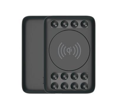 Smart AirConnect iMate Wireless Power Bank 5000mAh Premium Suction Black.