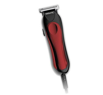 Wahl T-PRO 9307 Corded Mini-Beard Hair Trimmer Black/Red