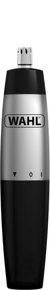Wahl 5642 Battery Operated Nose & Ear Hair Trimmer Silver/Black.