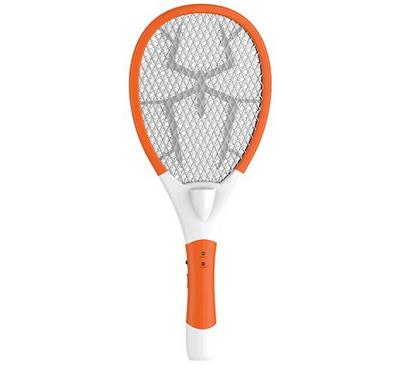 Mosquito Swatter Elexon Rechargeable LED Electric Bug Pest Fly Mosquito Killer,White.