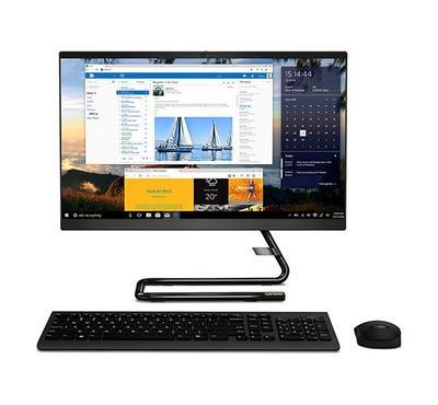 لينوفو، أيديا سنتر 3 كمبيوتر مكتبي، كور أي5، 27 بوصة، رام 8 جيجا، 1 تيرا، لوحة مفاتيح لاسلكية + ماوس، أسود