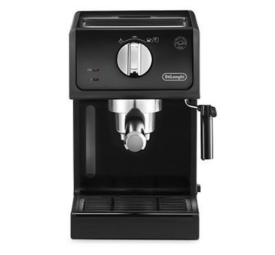 Delonghi Pump Espresso Coffee Maker,1100W, 15 Bar, 1.1L, Black