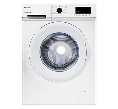 Vestel, Front Load Washing Machine, 6 KG, White