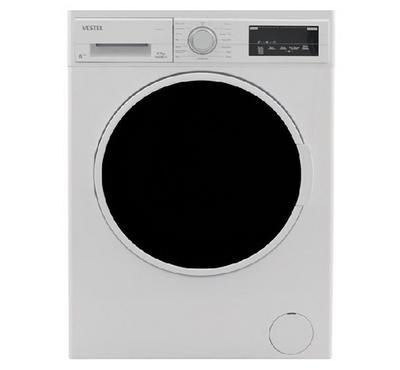 Vestel, Washing Machine Front Load, 9 KG, White