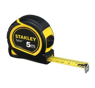 Stanley, 5M Measuring Tape, 13MM Metric Imperial, Black