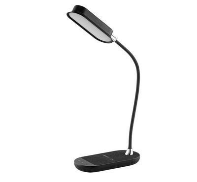Momax, Q.LED Flex Desk Lamp, 10W, Wireless Charging, Black