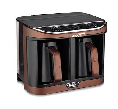 Fakir, Kaave Dual Pro Turkish Coffee Machine, 560ml, 735-1470W, Brown