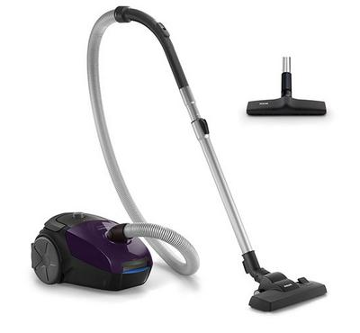 Philips, PowerGo, Canister Vacuum Cleaner, 2000W, 3.0L, Magic Purple