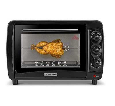 Black+Decker, Electric Oven Toaster With Convection, 35.0L, 1500W, Black