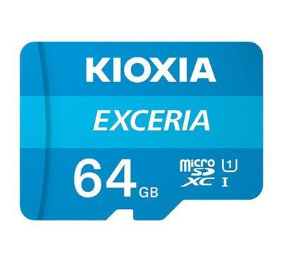 Kioxia, micro SD EXC 64GB