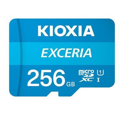 Kioxia, micro SD EXC 256GB