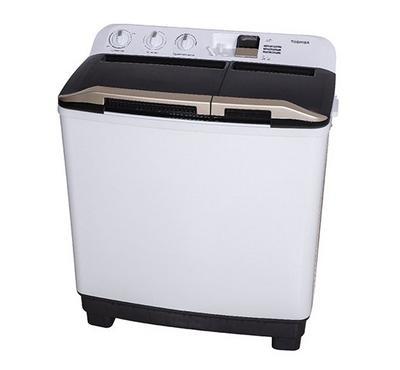 Toshiba, Washing Machine Twin Tub, 8.0KG, White