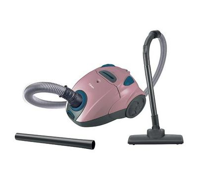 Clikon, Vacuum Cleaner Canister Type, 1200W, Black/Light Pink