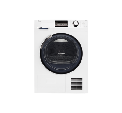 Haier, Tumble Dryer, 9 kg, White