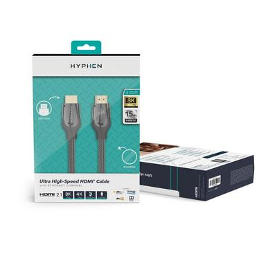 Hyphen, HDMI 2.1, Ultra High Speed HDMI Cable 1.5m