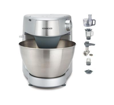 Kenwood 1000 Watts 4.3 Ltr Kitchen Machine With Accessories, Silver.