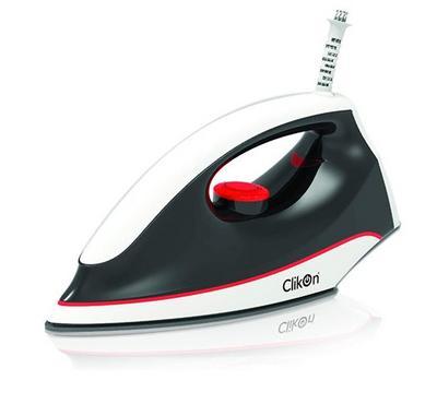 Clikon Lightweight Dry Iron 1100W White/Black