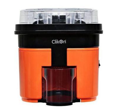 Clikon, Citrus Juicer Plastic Body 90W, Black/Orange