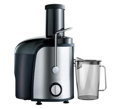 Clikon FRESH FRUIT 1.5L Juice Extractor Stainless Body 800W Black/Silver.