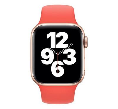 Apple 44mm Pink Citrus Sport Band, Pink