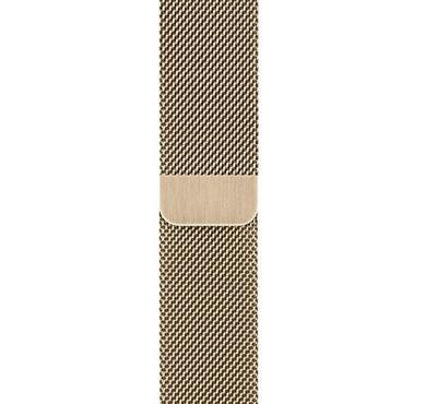 Apple 40mm Gold Stainless Steel Milanese Loop,Gold