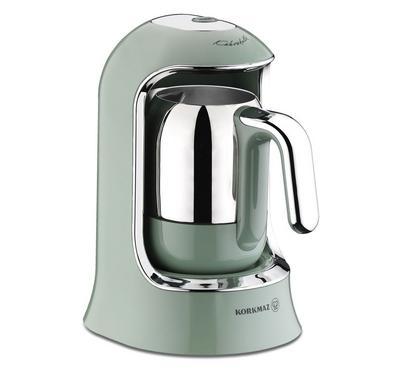 Korkmaz 400 Watts Turkish Coffee Maker, 400ML Capacity, Green