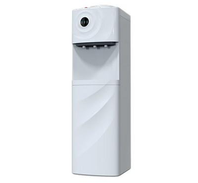 Power Top Loading Water Dispenser, Hot and Cold Function, White.