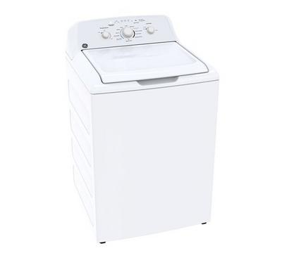 GE Top Load Washer, 9 kg, Heavy Duty Motor, 11 Automatic Cycles, White