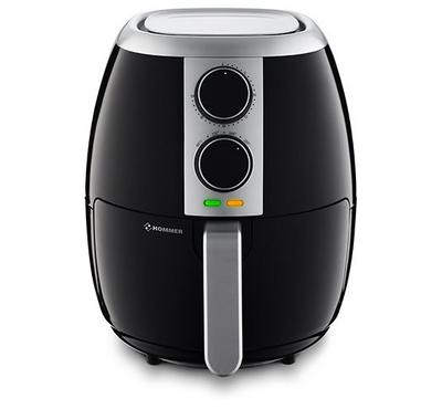 Hommer Healthy Air Fryer, 3.5 Ltrs, 1500W, Black.