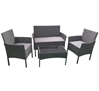 Homez, Plum 4pcs conversation patio set, Grey