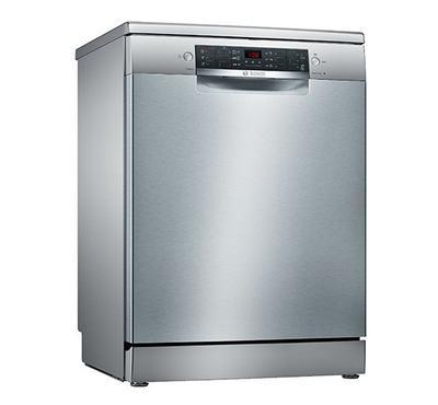 Bosch Dishwasher,12 Place Settings, 6 Programs, Silver Inox