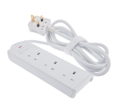Alfanar, Extension Cord,  3 Sockets, 3M Cable