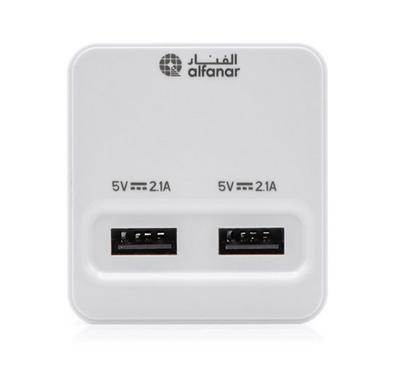 Alfanar, USB Charging Adaptor, 2 Port