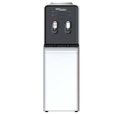 Super General 2 Taps Hot and Cold, Stand alone Water Dispenser, Silver.