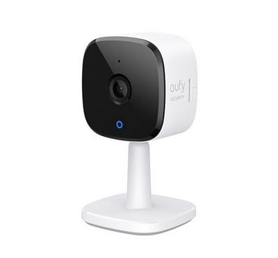 Eufy, Indoor Camera 2K, two-way talk, Black/White