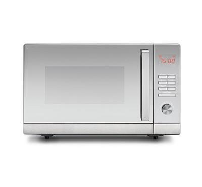 Black+Decker Microwave Oven With Grill, 30.0L, 1000W, Silver