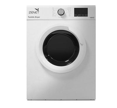 Zenet Vented Tumble Clothes Dryer,10.0KG, 2000W, 15 Programs,White