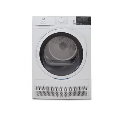 الكتروليكس نشافة ملابس، بنظام المكثف، 8 كيلو، 12 برنامج، أبيض