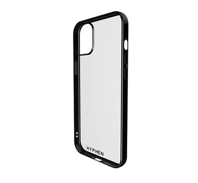 Hyphen Frame Case iPhone 12/12 PRO, Black Clear