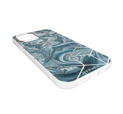 Hyphen Marble Case Pacific Blue iPhone 12 Mini, Pacific Blue