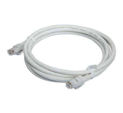 Bitcorez, PVC Cat 6 UTP Patch Cable, 2M, White