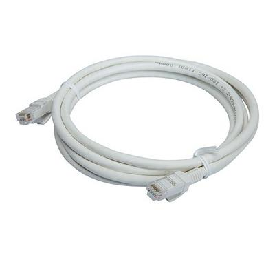 Bitcorez, PVC Cat 6 UTP Patch Cable, 3M, White